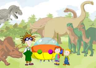 When the Dinosaurs Roamed