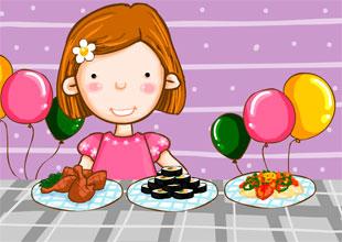 Hana's Album 18: My Favorite Birthday Foods
