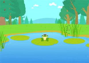 Little Green Frog