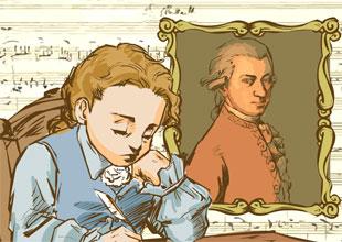 Mozart: A Little Genius on the Harpsichord