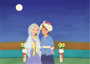 Aladdin and His Wonderful Lamp 20: The Wedding