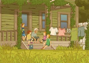 The Willow Creek Twins 20: Long Ago in Willow Creek