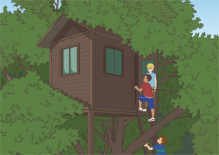 The Lemonade Detectives, The Case of the Sleepwalking Sister 5: Tree House Spies