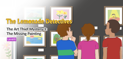 The Lemonade Detectives, The Art Thief Mystery 3
