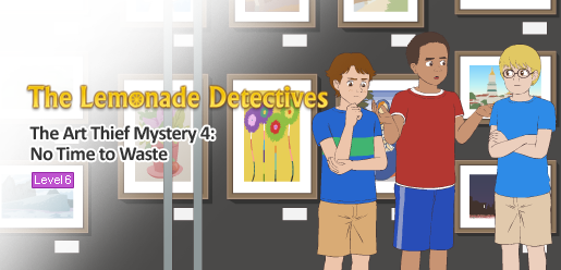 The Lemonade Detectives, The Art Thief Mystery 4