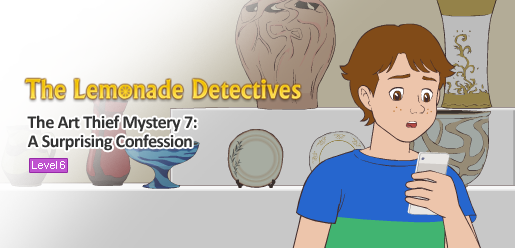 The Lemonade Detectives, The Art Thief Mystery 7