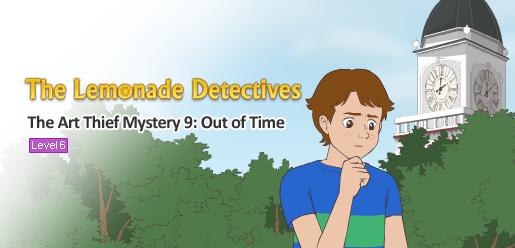 The Lemonade Detectives, The Art Thief Mystery 9