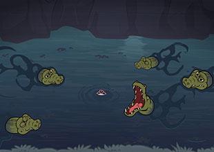 Wizard and Cat 11: Crocodiles!
