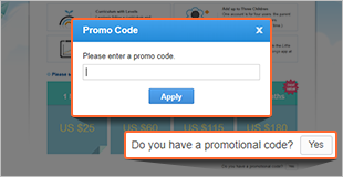 How to Use This Promotional Code Step2
