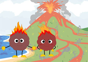 Rava and Java the Lava