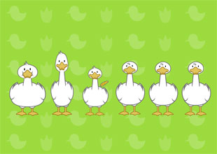 6. Six Little Ducks