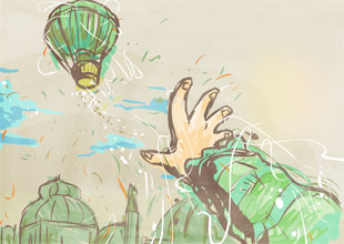 The Wonderful Wizard of Oz 14: Balloon Ride
