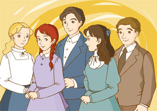 Anne of Green Gables 14: The Queen's Class