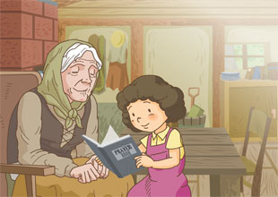16. Heidi Visits Grandmother