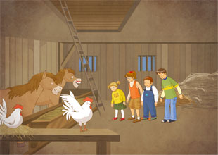 14. Stuck in the Barn