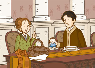 Little Women 6: Jo Cheers Up Laurie