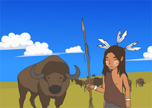 The Native Americans and the Buffalo