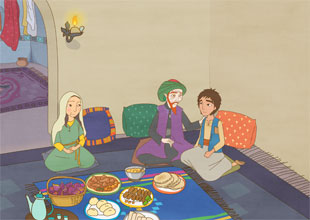 Aladdin and His Wonderful Lamp 3: Dinner at Aladdin's House