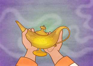 Aladdin and His Wonderful Lamp 8: The Lamp