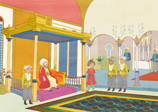 Aladdin and His Wonderful Lamp 16: The Sultan