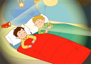 Sam and Lucky 5: The Sleepover