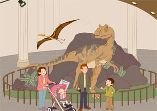 Sam and Lucky 14: Dinosaurs!