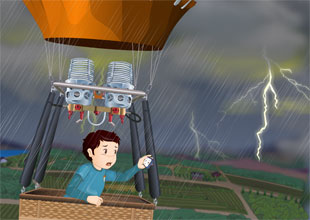 QT's Science Adventures 5: Stormy Weather