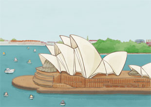 Our World Landmarks 5: The Sydney Opera House