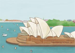 Our World Landmarks 5: The Sydney Opera House