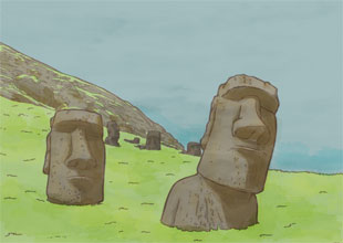 Our World Landmarks 9: Easter Island