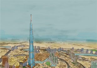 10. The Burj Khalifa