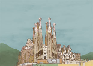 12. The Sagrada Familia