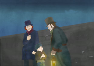 Oliver Twist 13: Robbing a House