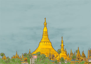 Our World Landmarks 14: Shwedagon Pagoda