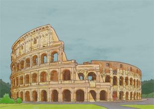 Our World Landmarks 17: The Colosseum