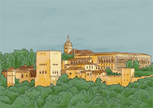 Our World Landmarks 15: The Alhambra
