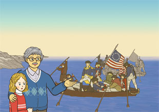 Grandpa's World History 18: The American Revolution and a Brave Red Riding Hood