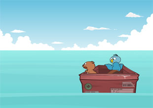 Bird and Kip 12: Lost at Sea!