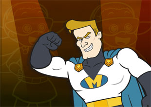 Rocket Girl vs. Mr. Presto 1: Mighty Man