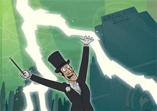 Rocket Girl vs. Mr. Presto 3: The World's Greatest Magician