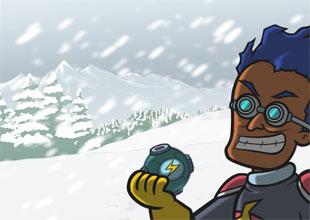 Rocket Girl vs. Weatherman 4: The Blizzard