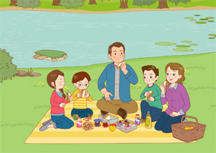 18. A Picnic in the Park
