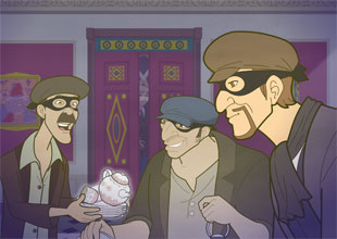 8. The Gang of Burglars