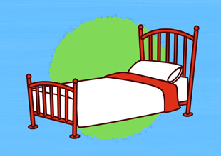 Word Families 12: A Red Bed