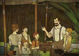 The Swiss Family Robinson 7: A Quiet Sunday and a Busy Monday