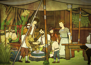 The Swiss Family Robinson 11: Making Candles and Butter