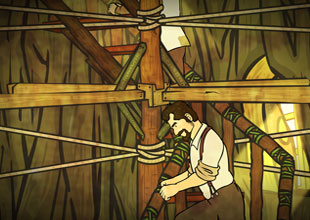 The Swiss Family Robinson 13: A New Staircase