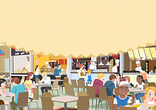 Where Am I? 19: There Is a Food Court