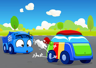Tire Town School 18: Flat Tire