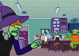 Monster Academy 2: Mrs. Hag